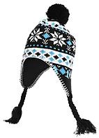 Зимняя шапка детская Hi-Tec Sawa JR SEA BLUE
