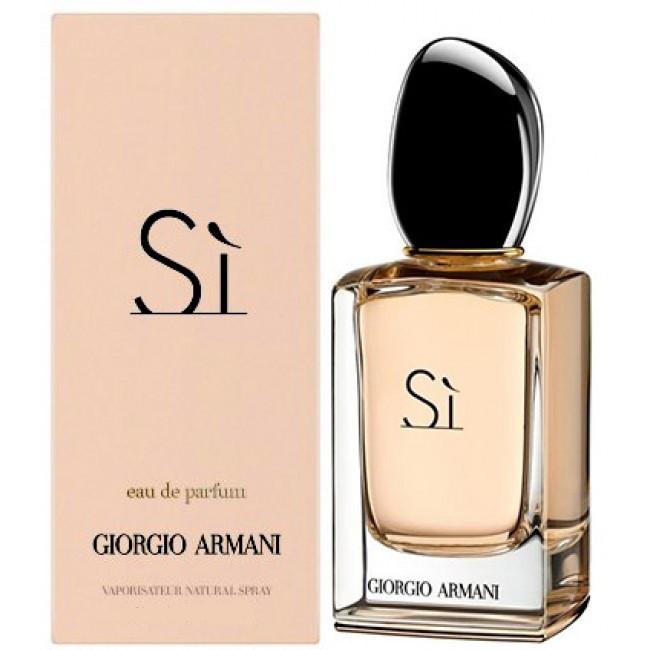 Giorgio Armani Si парфюмированная вода 100 Ml джорджио армани си