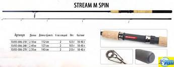 Спиннинг BratFishing Stream M Spin  2,1 m (10-40g)