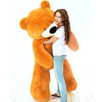 Огромный плюшевый медведь Бублик 200 см (медовый), фото 1