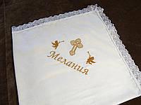 """Дизайн """"Мелания"""". Вышивка золотом на крыжме"""