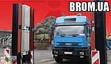 SaphyGATE G система радиационного радиометрического контроля грузовых авто и ж/д, отходов, портальный монитор, фото 2