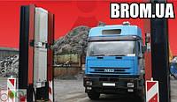SaphyGATE G система радиационного радиометрического контроля грузовых авто и ж/д, отходов, портальный монитор
