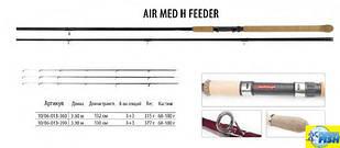 Фідер BratFishing Air Med H Feeder 3,9 m (60-180g)