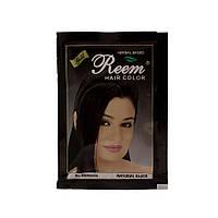 Краска для волос цвет Чёрный Reem Gold 10г