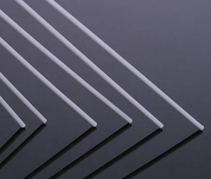 Пластиковый профиль для масштабного моделирования Ø 2 мм. Круг. Длина 250 мм. 1шт., фото 2