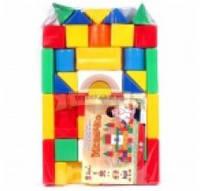 Строительный набор Городок большой арт. 690212, детский конструктор, развивающая игрушка