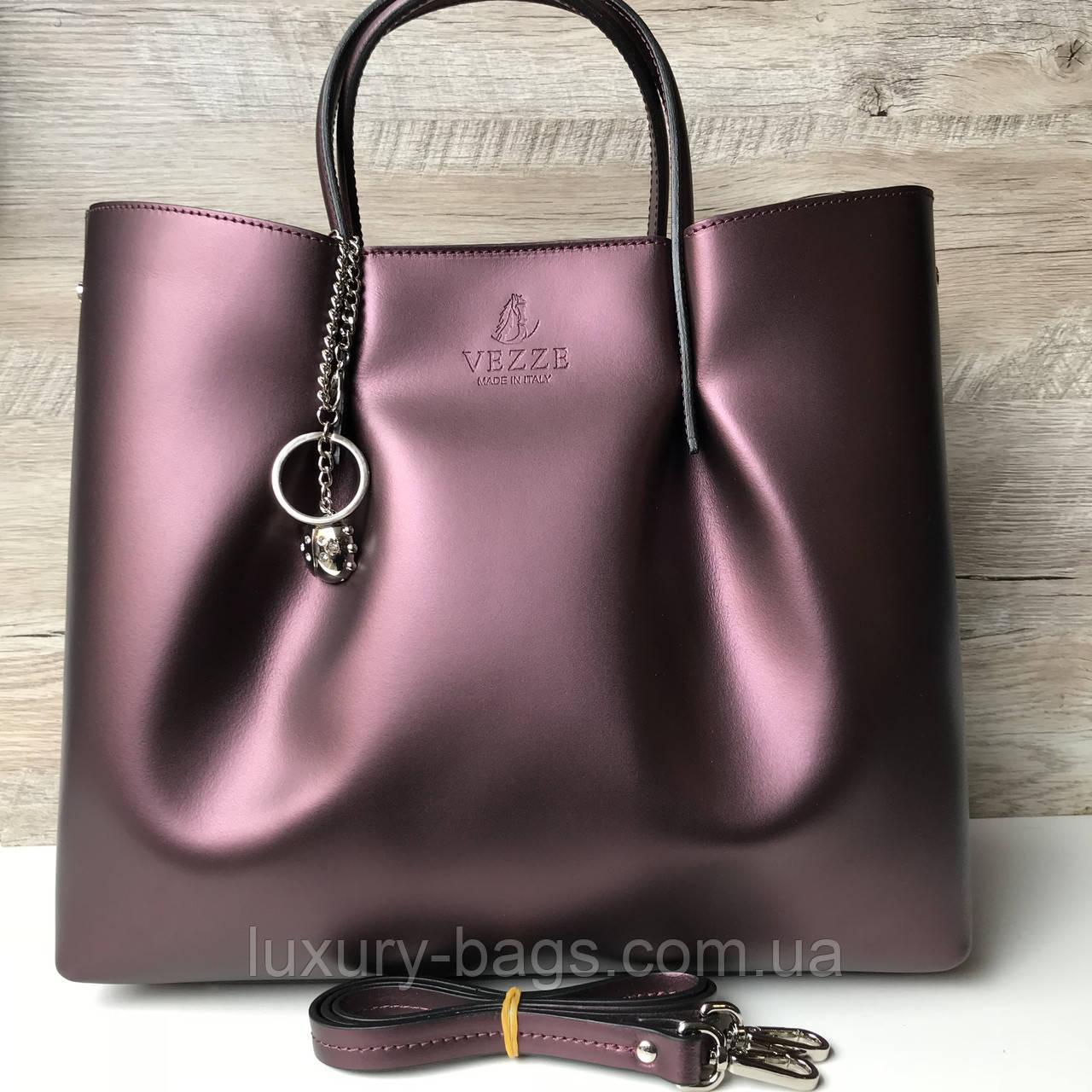 35a8b45ab0eb кожаная итальянская сумка Vezze цена 1 830 грн купить в одессе