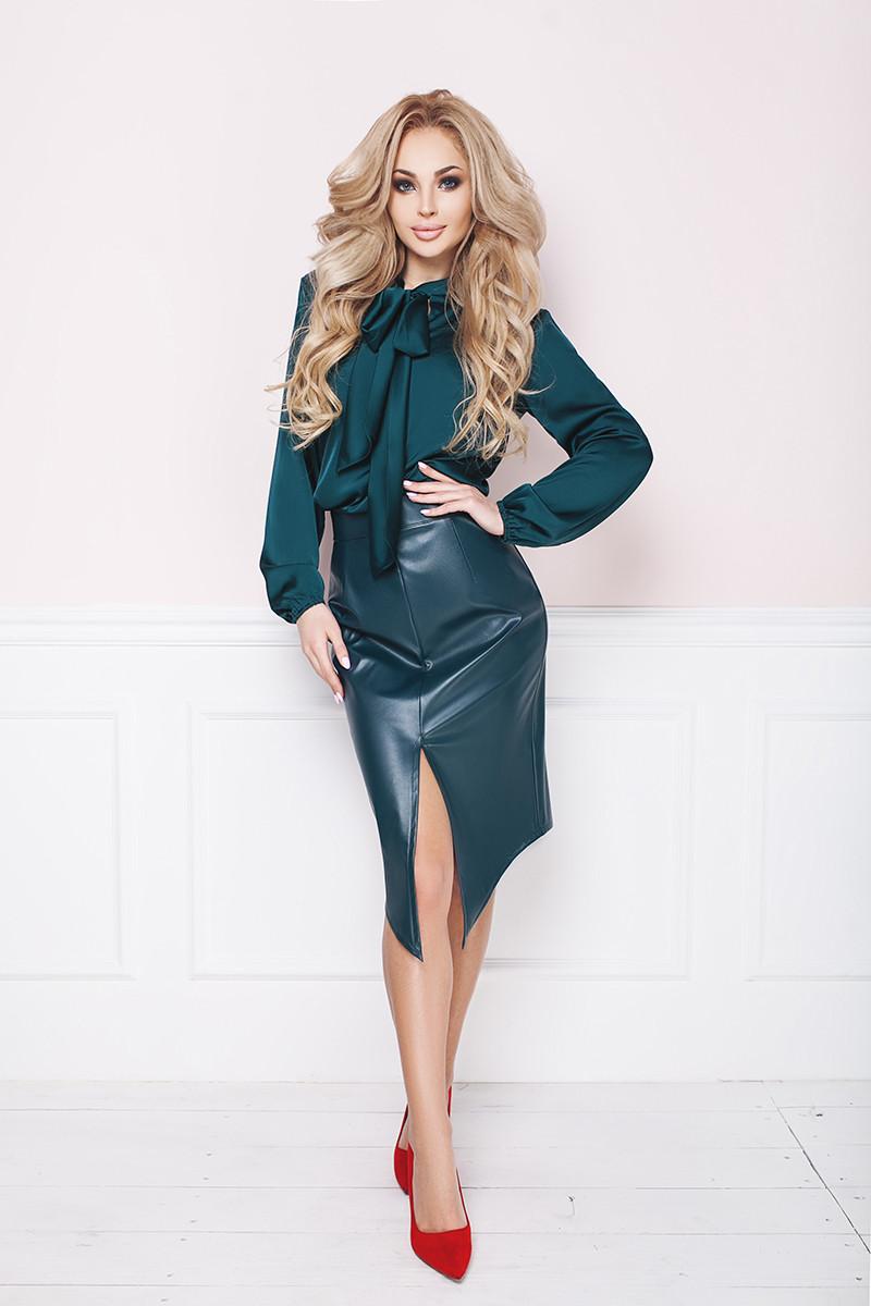 588bdd4e568 Шелковая женская блуза
