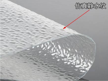 Пластик для имитации водной поверхности. 500 мм. Х 270 мм. 1 шт., фото 2