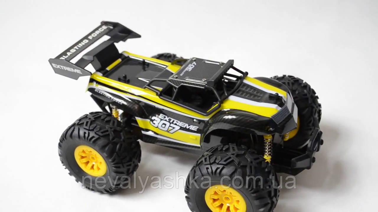 Джип Crazon Extreme 307 Желтый на радиоуправлении на пульте управления р/у 171802В, 006016
