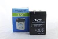 Аккумулятор BATTERY 6V 6A UKC, гелевый аккумулятор