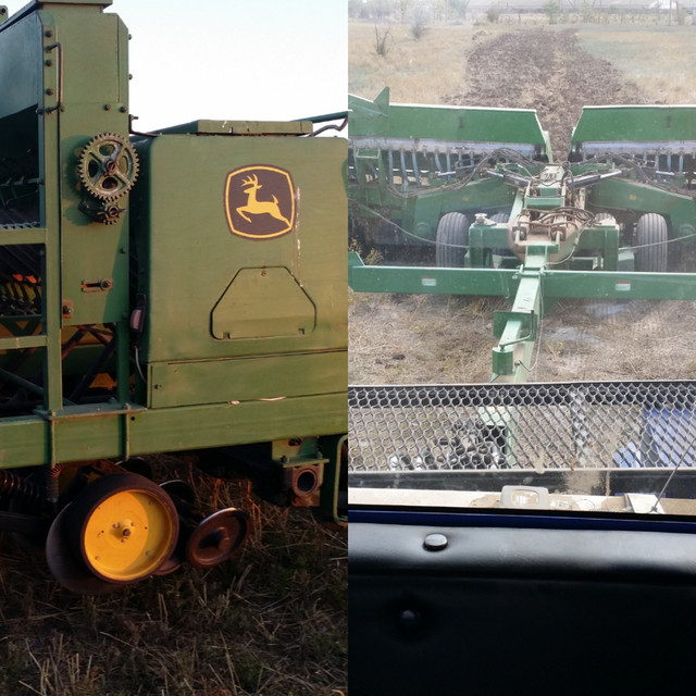NO-TILL DRILLS. John Deere 750 vs Great Plains 2N24. Грейт Плейнс или Джон Дир сеялки