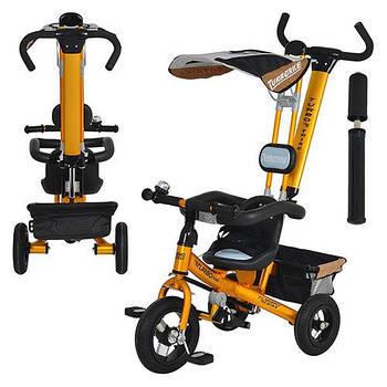 Трехколесный велосипед – первый транспорт малыша!