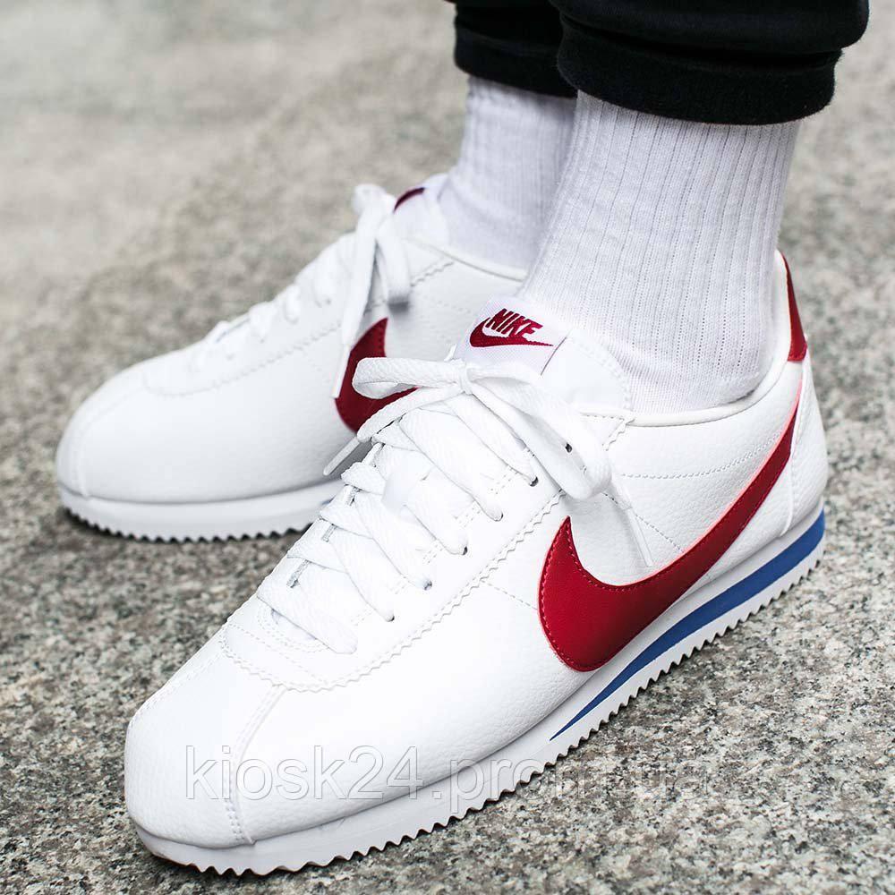 8372a444 Оригинальные кроссовки Nike Classic Cortez Leather Forrest Gump (749571-154)