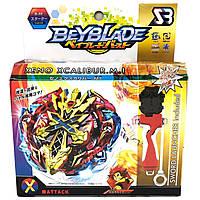 BEYBLADE (Бейблейд) Xeno Xcalibur с пусковым устройством, фото 1
