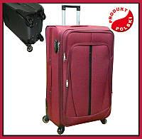 Большой  чемодан на четырёх колёсах 1680D