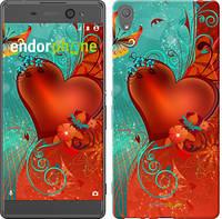"Чехол на Sony Xperia XA Сердце в цветах ""220c-399-5114"""