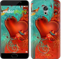 "Чехол на Meizu Pro 6 Plus Сердце в цветах ""220u-678-5114"""