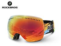 Горнолыжные / сноубордические очки (маска) ROCKBROS UV400