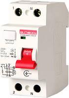 Выключатель дифференциального тока e.rccb.stand.2.16.10 2р, 16А, 10mA s034006