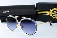Женские солнцезащитные очки Авиатор Dita 0034 серые