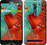 "Чехол на Asus Zenfone 2 ZE551ML Сердце в цветах ""220c-122-5114"""