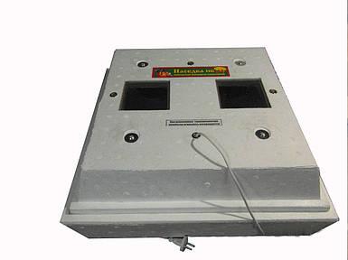 Инкубатор бытовой для яиц Наседка ИБ - 120 с ручным переворотом яиц , цифровой терморегулятор
