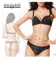 Комплект нижнего женского белья Balaloum Серый 70С 75С 80С, фото 1