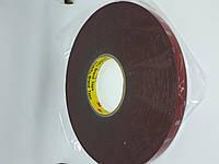 Двухсторонний скотч 3M 0.8 мм GT7108 КЛЕЙКИЕ ЛЕНТЫ 3 М 33 метра 8 мм, фото 1