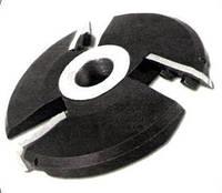 Фреза с механическим  креплением ножей (4 к-кта 12  ножей) для изготовления филёнки 160х32