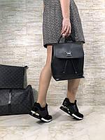 Крутой женский рюкзак Louis Vuitton LOCKME BACKPACK натуральная кожа (реплика), фото 1