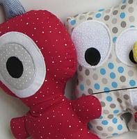 Подушки игрушки - Монстрики, фото 4