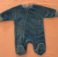 Теплый комбинезон для новорожденных велсофт