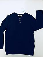 Детский вязанный джемпер для мальчика синий Германия