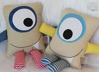 Подушки игрушки - Монстрики, фото 6