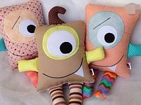 Подушки игрушки - Монстрики, фото 7