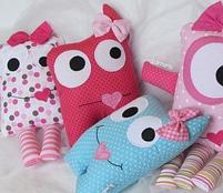 Подушки игрушки - Монстрики, фото 9