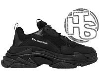 Мужские кроссовки Balenciaga Triple S Trainers Triple Black
