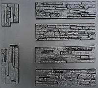 """Форма для декоративного каменю та плитки """"Aфіни"""" (6 форм)"""