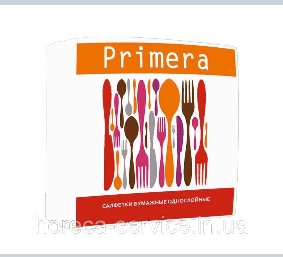 Салфетка Барная 24*24 500 шт. Primera