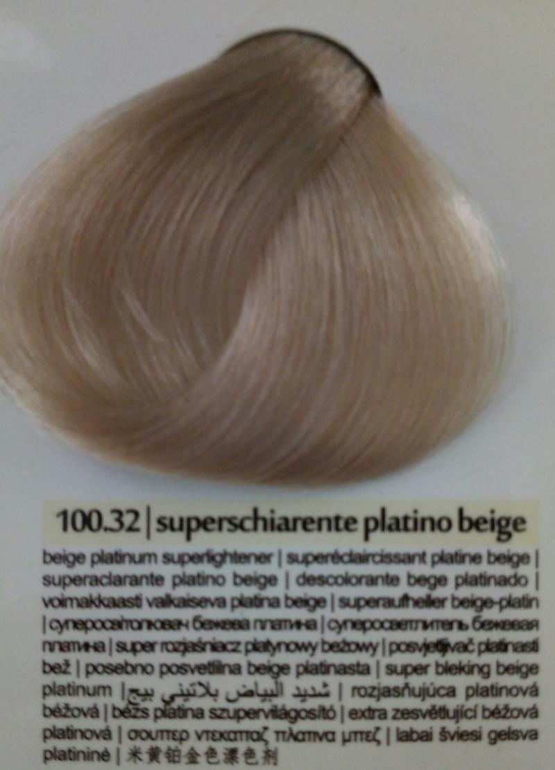 Краска для волос Colorianne Prestige Суперосветлитель бежевая платина 100.32