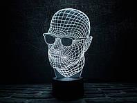"3D ночник ""Невидимка"" 3DTOYSLAMP, фото 1"