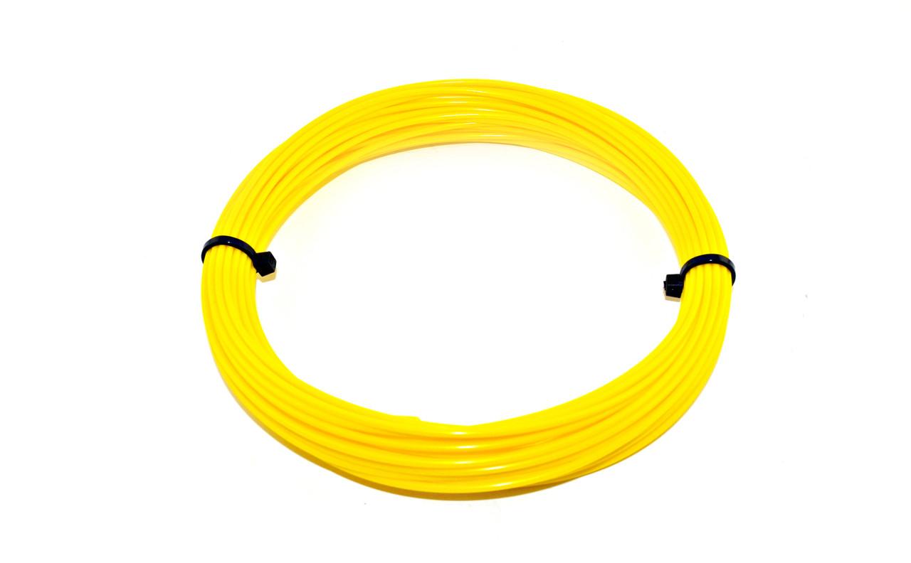 Желтый PLA пластик для 3D ручки 10 метров