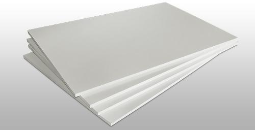 Пластик для моделирования белый. Толщина пластика 0.75 мм. 1 шт. Размер 210х297.