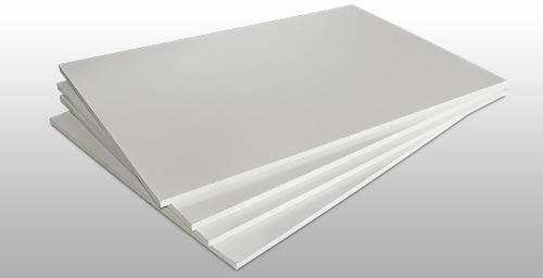 Пластик для моделирования белый. Толщина пластика 0.75 мм. 1 шт. Размер 210х297., фото 2