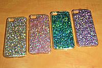 TPU чехол с блестками для iPhone 6 / 6S (4.7 дюйма) (4 цвета)