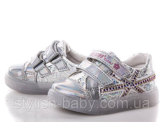 Детская спортивная обувь оптом. Детские кеды бренда EeBb для девочек (рр. с 21 по 26), фото 2