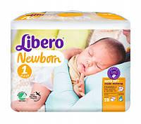 Подгузники детские Libero Newborn 1 2-5 кг 28 шт.