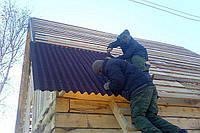 Монтаж стропильной системы с укладкой ондулина
